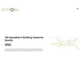 Website design for Entropy Design