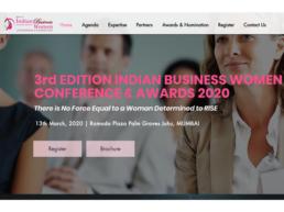 Website design for Ibwc Website
