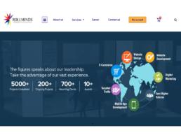 Website design for RollMinds