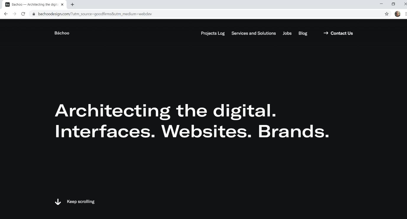 Bachoo, website design company