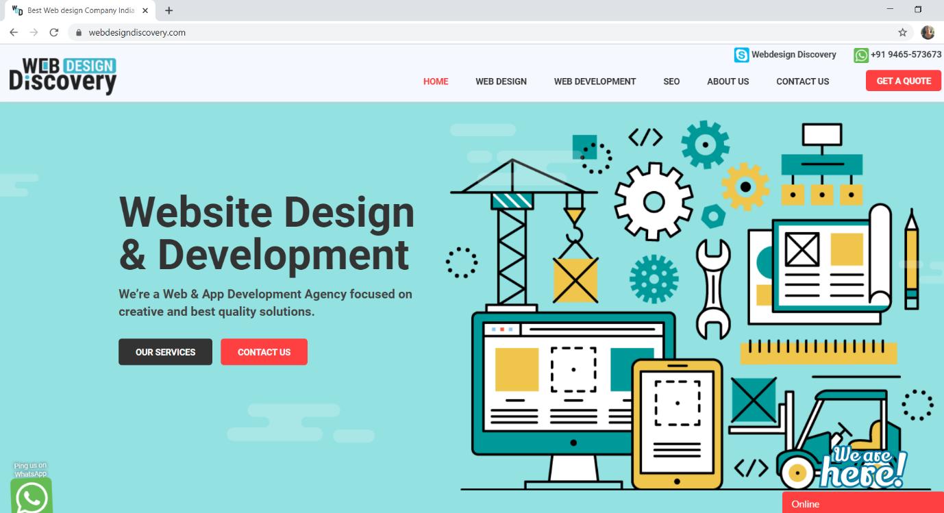 Web Design Discovery, website design company