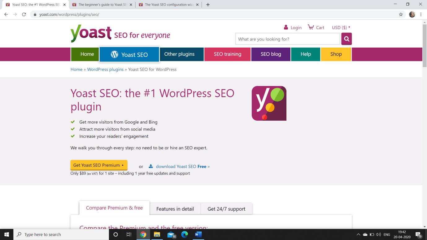 SEO tool as wordpress plugin