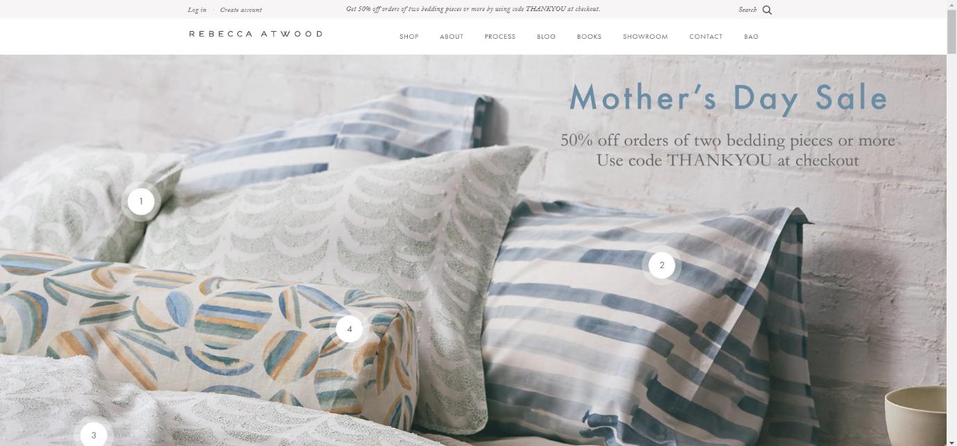 Rebecca Atwood best ecommerce website design