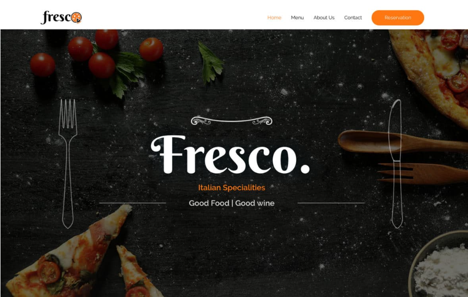 Astra free wordpress theme for food and restaurant business