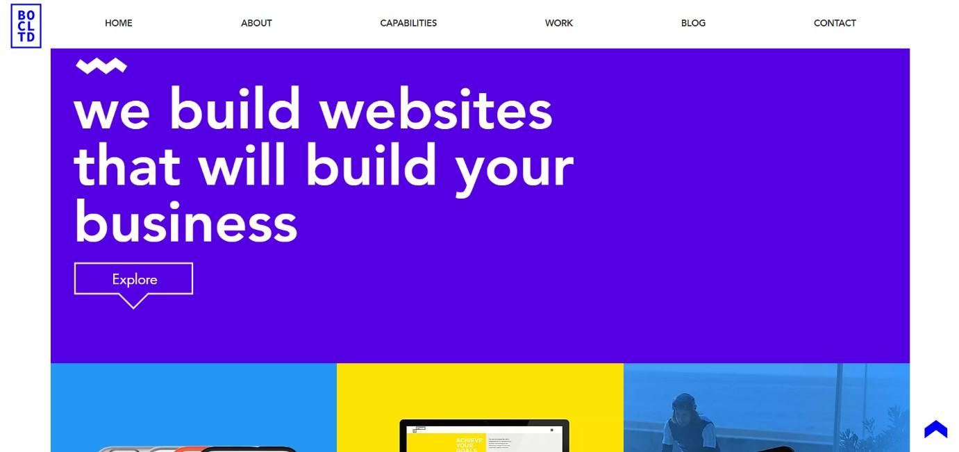 Brown Owl Creative website Example
