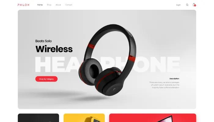 phlox digital shop wordpress theme