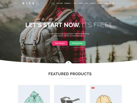 Rife Wordpress Theme